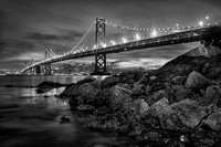 san_francisco_bay_bridge_black_and_white