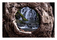 Cataract_Lower_Falls_Through_Driftwood